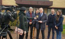 Антић у Лучанима: Велике инвестиције за јачање електро-мреже
