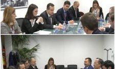 Билатерални сусрети на маргинама Министарског савета ОЕБС-а у Милану