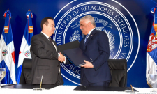 "Ministar Dačić: ""Naša je želja da Srbija i Dominikanska Republika grade prijateljske bilateralne odnose i strateško partnerstvo"""