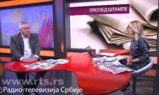 Гостовање Вељка Одаловића у Јутарњем програму на РТС: Добро је ако је неко позвао Харадинаја да одустане