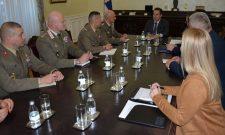 Дачић разговарао са начелником штаба НАТО Команде здружених снага у Напуљу
