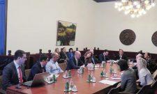 Goran Trivan sa delegacijom Evropske razvojne banke