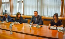 Александар Антић са делегацијом Министарства енергетике и природних ресурса Републике Турске