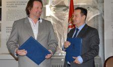 Дачић: Потписан Споразум о сарадњи у области конзервације и дигитализације Збирке међународних уговора