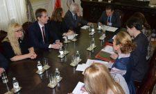 Дачић примио делегацију пољске парламентарне групе за сарадњу са земљама Балкана