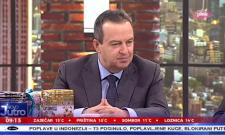 Гостовање Ивице Дачића у Јутарњем програму на ТВ Пинк: Западне амабасаде и ЕУ нису реаговале на насиље, очигледно је да постоје двоструки стандарди