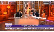 """Gostovanje Branka Ružića u """"Dobro jutro Srbijo"""" na TV Hepi: """"Kada manjina pokušava da nadjača većinu, kako se to zove?"""""""