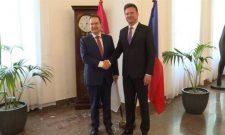 Састанак Дачића са председником Представничког дома Парламента Чешке