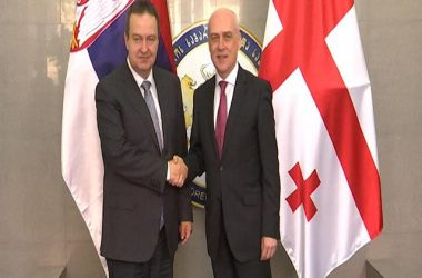 Dačić: Dalje unapređenje bilateralne saradnje između Srbije i Gruzije u svim oblastima od obostranog interesa