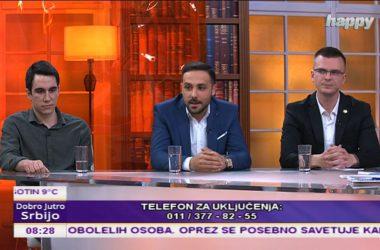 Gostovanje Uglješe Markovića u Jutarnjem programu na TV Hepi