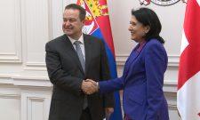 Дачић: Захвалност на подршци Грузије територијалном интегритету Србије