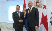 Dačić: Srbiju i Gruziju vezuju tradicionalno prijateljske veze
