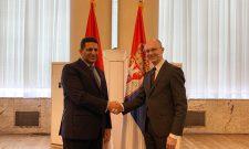 Goran Trivan sa ambasadorom Egipta