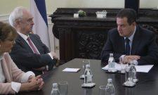Дачић: Опроштајни сусрет са амбасадором Краљевине Шпаније