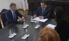 Dačić: Oproštajna poseta ambasadora Finske u Beogradu