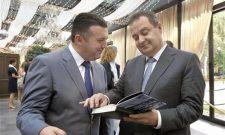 Ивица Дачић на промоцији књиге Два лица глобализације