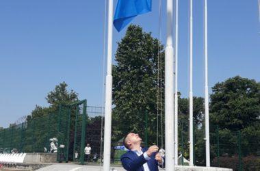 Никола Никодијевић отворио сезону купања на Ади Циганлији