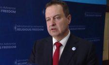Ивица Дачић: Проналажење мирног и трајног решења за Косово један је од приоритета америчке спољне политике