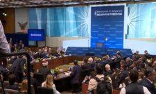 Иступање Ивице Дачића на Министарској конференцији o верским слободама у Вашингтону