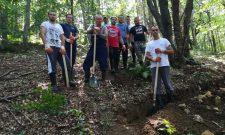 Socijalistička omladina Valjeva organizovala 8. Radnu akciju