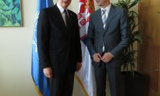 Горан Триван са помоћником генералног директора Организације Уједињених нација за храну и пољопривреду