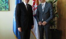 Goran Trivan sa pomoćnikom generalnog direktora Organizacije Ujedinjenih nacija za hranu i poljoprivredu