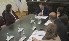 Ивица Дачић разговарао са новоименованом амбасадорком Босне и Херцеговине
