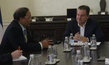 Ivica Dačić: Oproštajni susret sa ambasadorom Republike Mjanmarske Unije