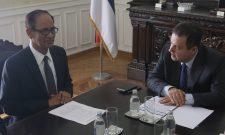 Ивица Дачић са амбасадором Бангладеша