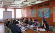 Триван са делегацијом Европске инвестиционе банке (ЕИБ)