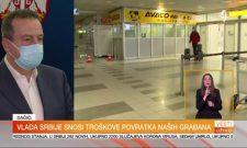 Ивица Дачић за ТВ Прва: Довоз путника врши се по листи приоритета