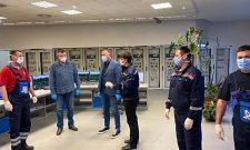 Antić i Grčić posetili TENT: Prioriteti EPS-a su stabilna proizvodnja i briga o zaposlenima
