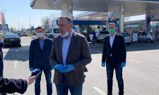 """Антић: """"Гаспромњефт"""" донирао гориво за полицију, ватрогасце и Хитну помоћ"""