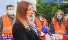 """Violeta Filip u emisiji """"Dobro jutro, Srbijo"""" na TV Hepi"""