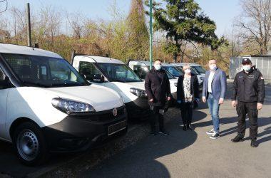 Nikodijević i Antić: Novih 11 vozila Zavodu za biocide i medicinsku ekologiju od značaja u borbi protiv virusa korona