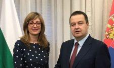 Dačić i Zaharijeva: Stalna komunikacija i saradnja zvaničnika Srbije i Bugarske i tokom epidemije korona virusa