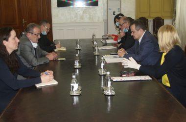 Dačić: U obostranom je interesu da odnosi Srbije i Hrvatske budu stabilni i sadržajni