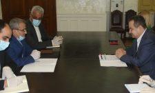 Дачић и амбасадор Ирана изразили наду за побољшањем ситуације и наставком унапређења сарадње