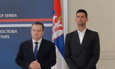 Dačić uručio nagradu Novaku Đokoviću za izuzetan lični angažman i doprinos u promociji interesa Republike Srbije i njenog naroda u svetu
