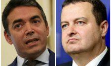 Дачић и Димитров разговарали о даљем ублажавању рестриктивних мера у Србији и Северној Македонији услед боље епидемиолошке ситуације