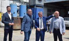 Антић у Чачку: Убрзана санација гасовода у оштећеног у поплави