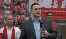 Branko Ružić i prof. dr Predrag J. Marković prisustvovalipromocijikandidata Koalicije SPS – JS u Varvarinu
