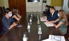 Dačić primio ambasadorku Rumunije u oproštajnu posetu