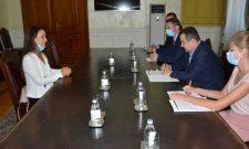 Dačić primio predstavnicu UNICEF u Srbiji u oproštajnu posetu