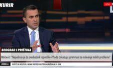 Gostovanje Đorđa Milićevića na TV Kurir: Nema međusobnog priznanja