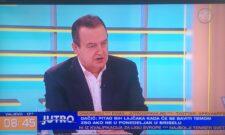Гостовање Ивице Дачића на ТВ Прва: Трудимо се да имамо најбоље односе са великим силама