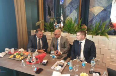 Никола Никодијевић : Апсолутна подршка Додика за договорене пројекте Београда и Бањалуке