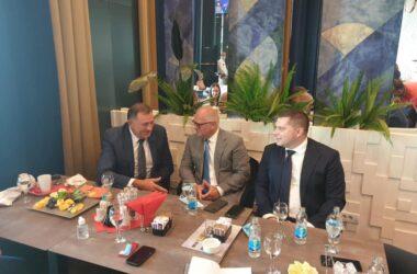 Nikola Nikodijević : Apsolutna podrška Dodika za dogovorene projekte Beograda i Banjaluke