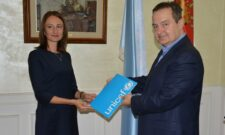 Dačić razgovarao sa novoimenovanom direktorkom predstavništva UNICEF-a u Srbiji