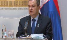 Дачић: Изјава Стубле врхунац лицемерја Приштине
